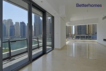 2 Bedroom Flat for Sale in Dubai Marina, Dubai - Marina View| Low Floor| Unfurnished| Tenanted