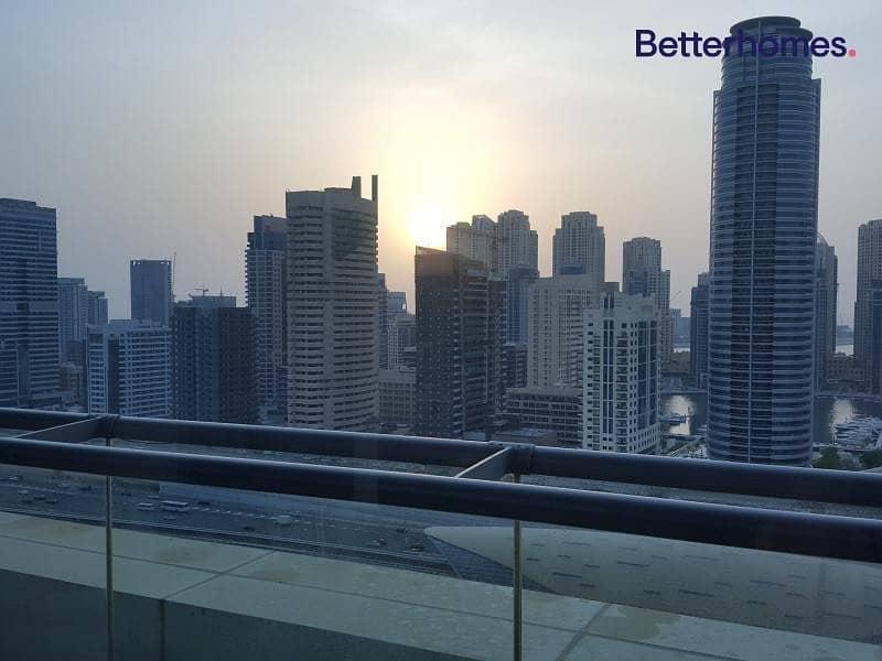 7 High Floor | Balcony | Sheikh Zayed & Marina view
