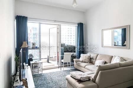 شقة 1 غرفة نوم للبيع في دبي مارينا، دبي - Biggest Layout of 1BR with JBR View/Vacant Soon
