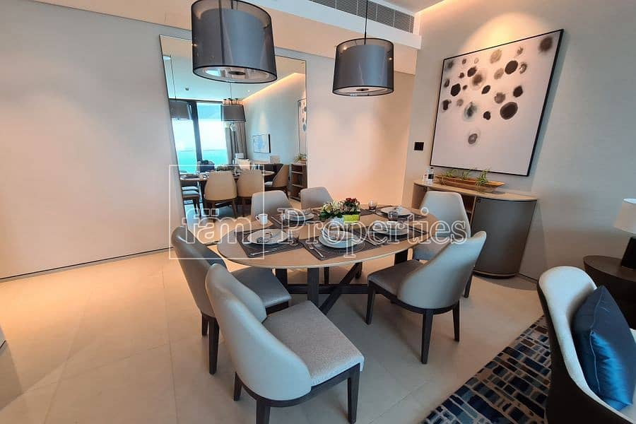 2 Stunning finishing | 5-star Amenities | Serviced