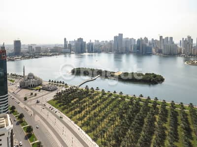 4 Bedroom Apartment for Rent in Corniche Al Buhaira, Sharjah - 4BHK BEST VIEW | BEST FLATS IN TOWN | 2 PARKING FREE | 1 MONTH FREE