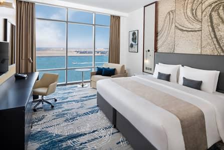 1 Bedroom Hotel Apartment for Rent in Deira, Dubai - Wyndham Dubai Deira Hotel & Super8 Rooms for Monthly rent