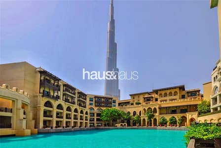 بنتهاوس 3 غرف نوم للايجار في المدينة القديمة، دبي - Fully upgraded | Townhouse | Lake and Burj Views