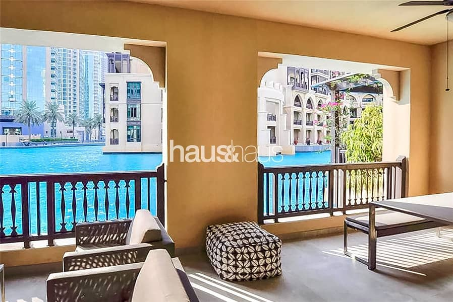 2 Fully upgraded | Townhouse | Lake and Burj Views