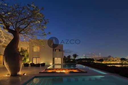 فیلا 6 غرف نوم للبيع في تلال الإمارات، دبي - RARE PALATIAL MANSION ON THE GOLF COURSE AND LAKE