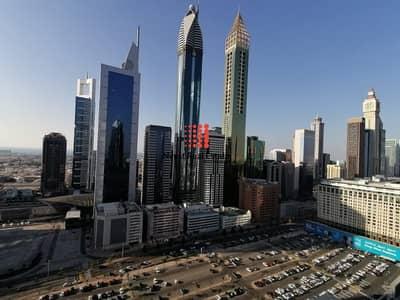فلیٹ 2 غرفة نوم للايجار في مركز دبي المالي العالمي، دبي - Closed to Metro | Spacious 2 BR+Maid's| Park towers