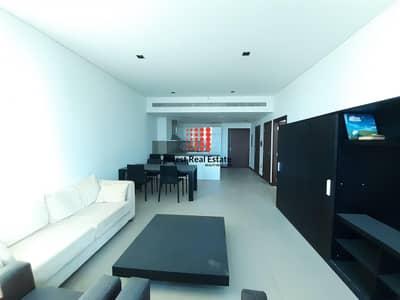 فلیٹ 1 غرفة نوم للايجار في مركز دبي المالي العالمي، دبي - Sea & SZR View  Simplex Furnished 1BR Apt   Liberty House