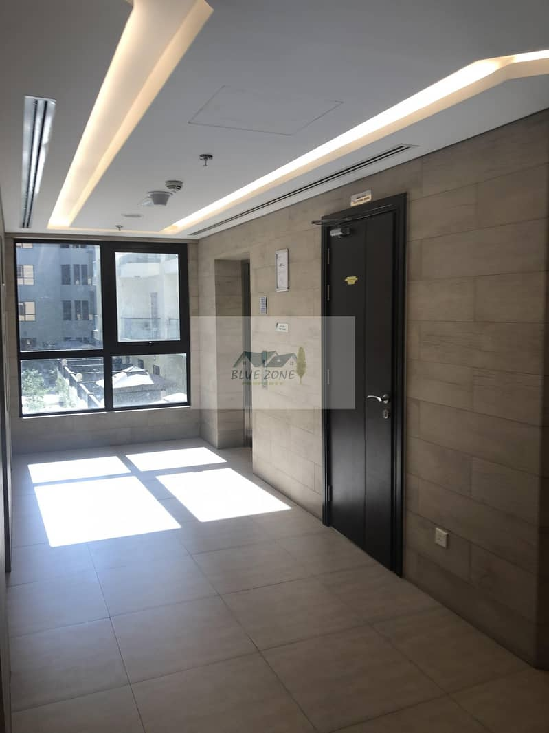 LIKE BRAND NEW 1BHK CLOSE TO AL QIYADAH METRO EXCELLENT FAMILY BUILDING POOL GYM 42K