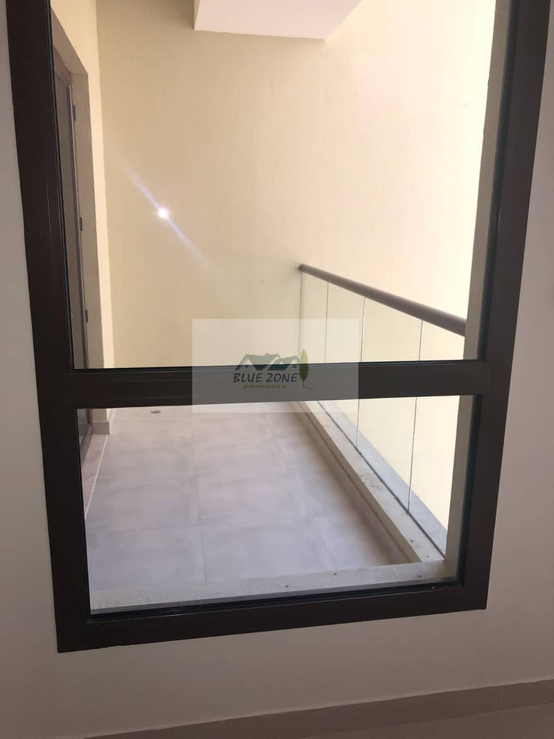 16 LIKE BRAND NEW 1BHK CLOSE TO AL QIYADAH METRO EXCELLENT FAMILY BUILDING POOL GYM 42K