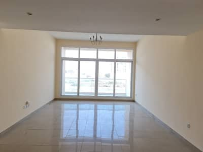 2 Bedroom Apartment for Rent in Al Mamzar, Dubai - Chiller free ! 1 Month Free ! Huge luxury 2 bedroom with both master room/Balcony/wardrobe rent 56k 6chqs