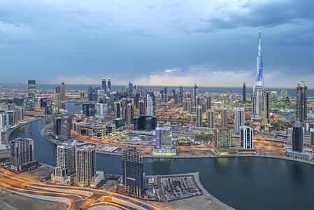 Building for Sale in Business Bay, Dubai - Residential / Hotel Apt. Tower - Brand New - w/Retail