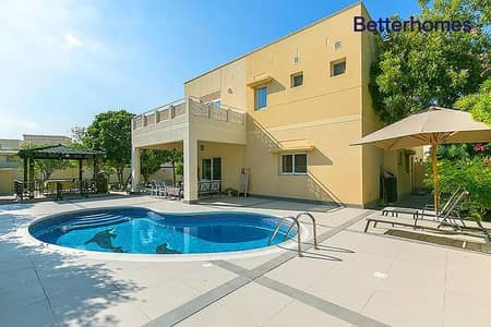 4 Bedroom Villa for Rent in The Meadows, Dubai - Upgraded | Private Pool | Type 2 | Corner Plot