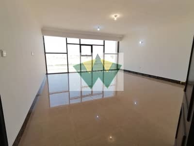 3 Bedroom Apartment for Rent in Mohammed Bin Zayed City, Abu Dhabi - Private roof trrace 3bhk apt big kitchen and hall