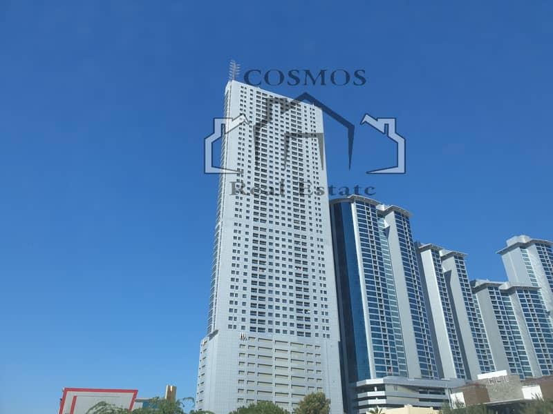 شقة في برج الكورنيش كورنيش عجمان 1 غرف 26000 درهم - 4941578