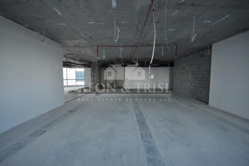 Excellent Office Shell n Core for Rent in tower in JLT- th-img8