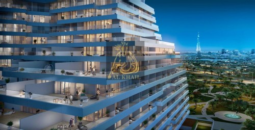 High-end 1BR Service Apartment in Dubai Healthcare City  Only 1% Booking!