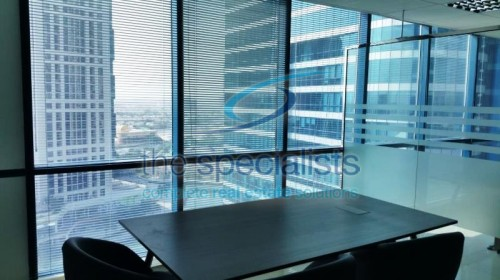 Great price for partial furnished Jumeirah Bay X