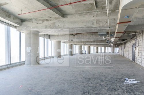 Shell and core office in Al Reem Island.