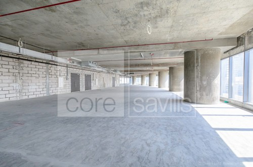 Spacious shell and core offices in ADDAX
