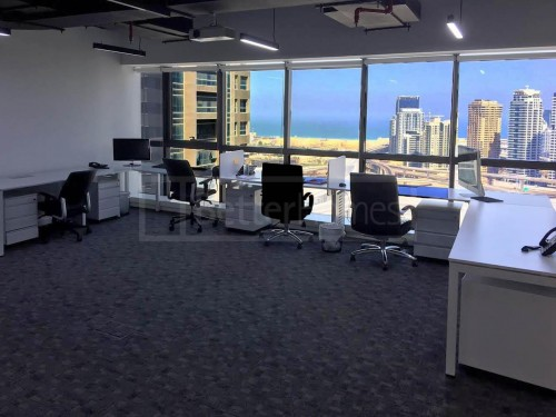 Sea View Furnished Jumeirah Business Centre JLT