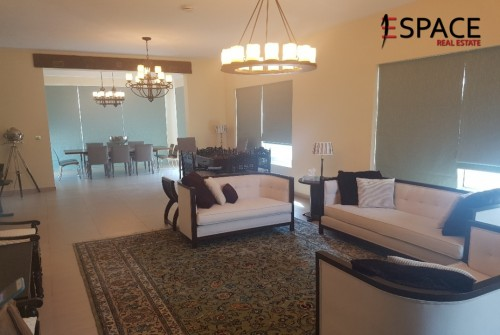 Fully furnished 4beds with corner plot in Nova