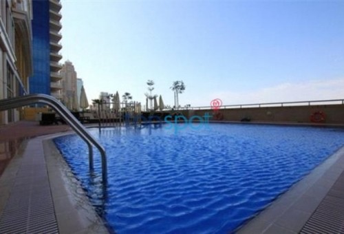 spacious 1 bed room for sale in elite residence