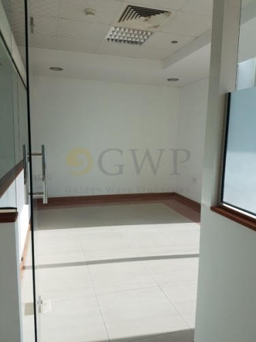 fitted office with partition in Prisam tower for rent