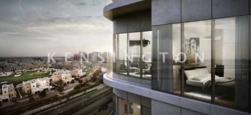 Brand new studio with amazing golf course view