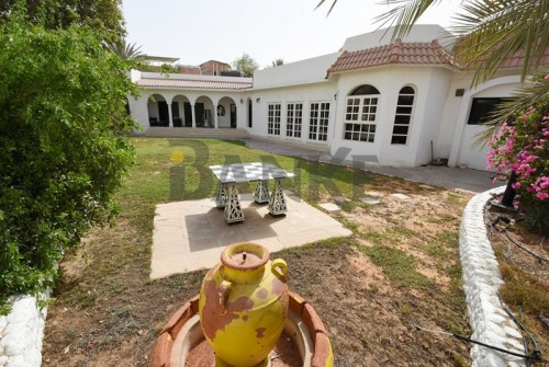 Aesthetic Spanish Design Villa Near Dubai Water Canal
