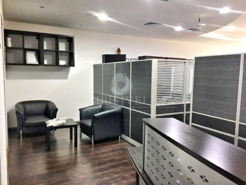 Furnished Office facing Sheikh Zayed Road