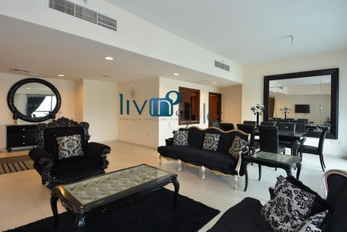 Four Bedrooms in Executive Towers | Community Views | High Floor and Well Maintained Apartment