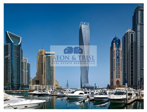 Great Deal in Marina, Cayan Tower, 2bed