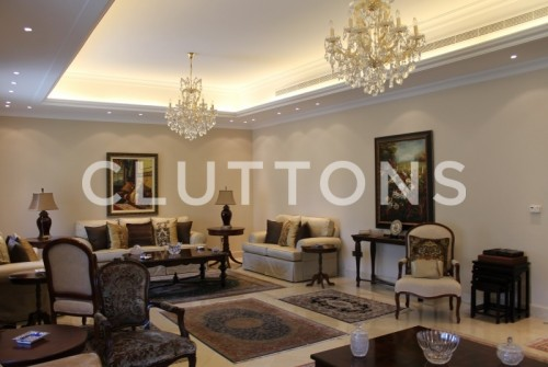 Amazing 3 villas together 6 bedroom with maids room fully furnished in Jumeirah 3 for rent