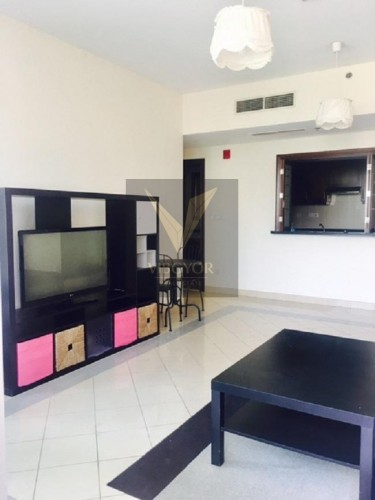 Fully Furnished 1 Bed Apt in Golf Tower 3