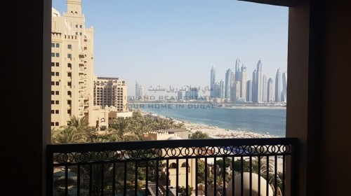 2 bed C type with double balcony & full sea  skyline view