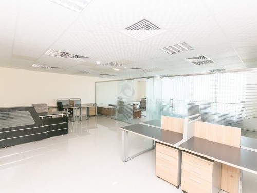 Partitioned Fitted Small Office for Rent