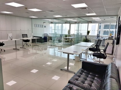 Fully Furnished Office in One Lake Plaza JLT