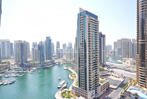 Stunning 1BR  Full Marina View  Cayan Tower