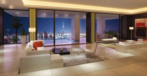 Elegant 2 BR Apt with Full Canal and Sea View in SZR